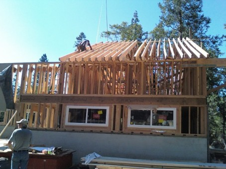 Lots of trusses for all that snow!