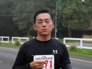 20-mile mark